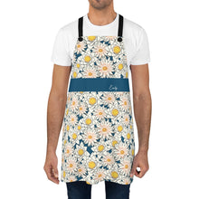 Load image into Gallery viewer, Flower Apron with Personalized Name