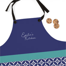 Load image into Gallery viewer, Greek Tile Personalized Apron