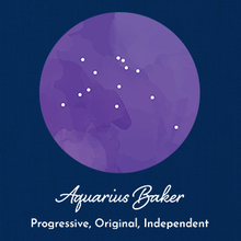 Load image into Gallery viewer, Aquarius Baker - Constellation Adjustable Apron
