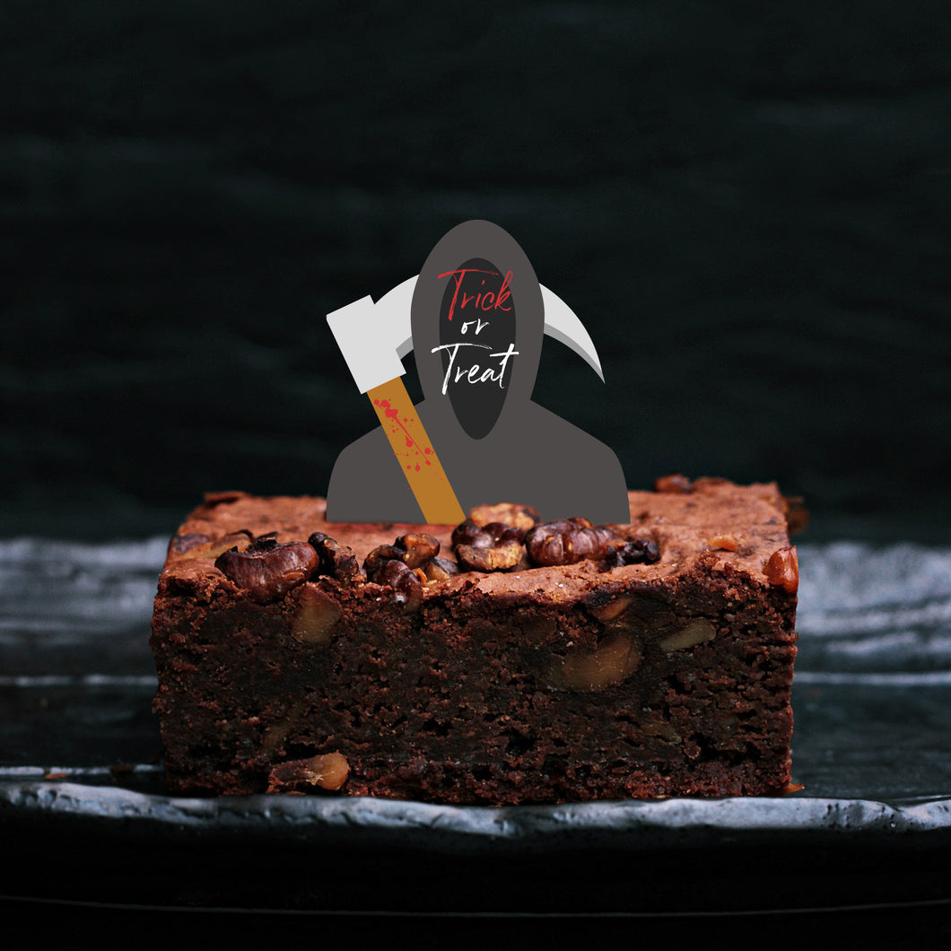 Grim Reaper Halloween Cupcake Toppers - DIGITAL FILE