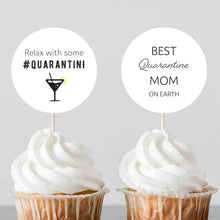 Load image into Gallery viewer, Quarantine Mother's Day Cake and Cupcake Toppers - DIGITAL PRODUCT