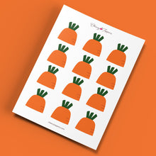 Load image into Gallery viewer, Easter Carrot Cupcake Toppers (FREE) - DIGITAL FILE-Cheery Toppers