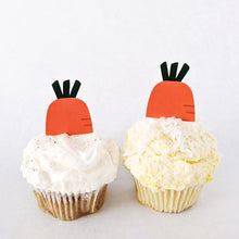 Load image into Gallery viewer, Easter Carrot Cupcake Toppers (FREE) - DIGITAL FILE