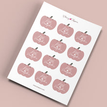Load image into Gallery viewer, Little Pumpkin Autumn Girl Baby Shower Cupcake Toppers - DIGITAL FILES