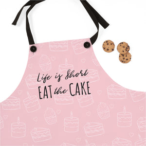 """Life is Short, Eat the Cake"" Apron"