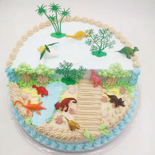 Load image into Gallery viewer, 16 Piece Realistic Dinosaur Cake Topper-Dinosaur-Cheery Toppers