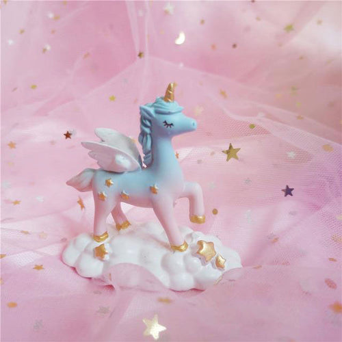 Unicorn Figure Cake Topper-unicorn, unicorn baby shower-Cheery Toppers