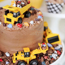 Load image into Gallery viewer, Get Creative Construction Cake Toppers-Trucks-6 Piece Plastic Trucks-Cheery Toppers