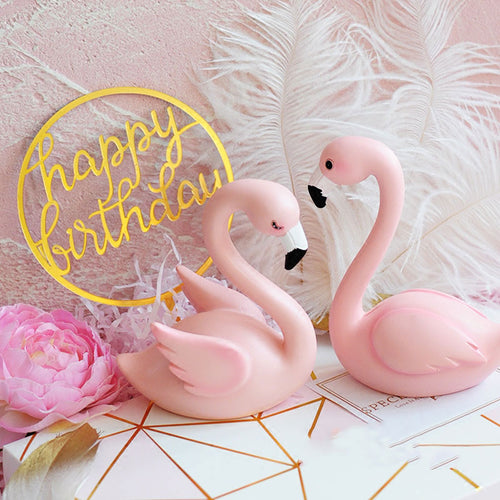 Flamingo Lovers Cake Topper-flamingo, Tropical-Flamingo 1 (4.6