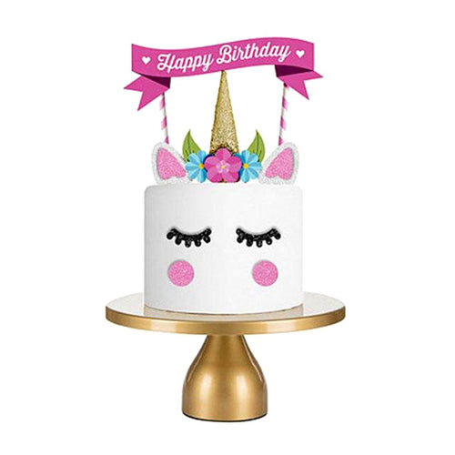 Create Your Unicorn Cake Decorating Kit-Unicorn-Cheery Toppers