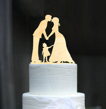 Load image into Gallery viewer, family wedding-family toppers-Cheery Toppers