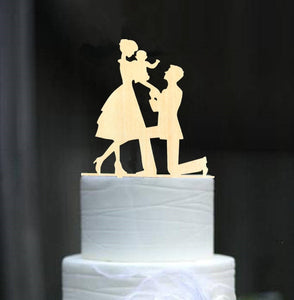 family wedding-family toppers-Cheery Toppers