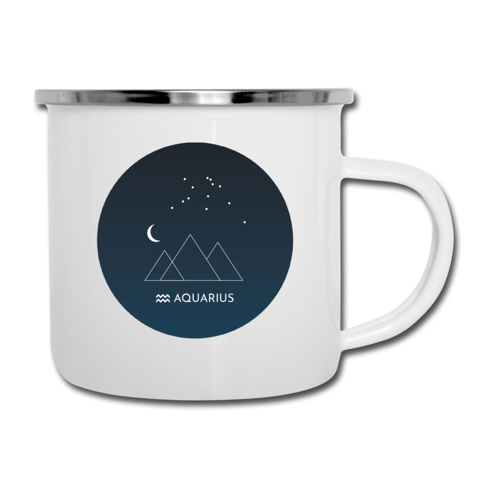 Aquarius - Constellation Camper Mug-Camper Mug | BestSub 1388-Cheery Toppers