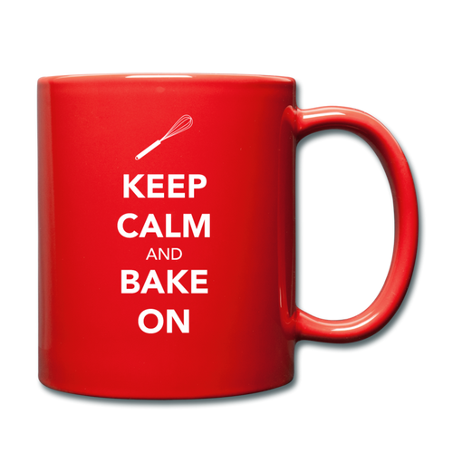Keep Calm And Bake On Full Color Mug-Full Color Mug | BestSub B11Q-Cheery Toppers