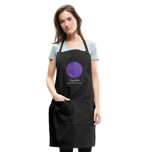 Virgo Baker  - Constellation Adjustable Apron - black