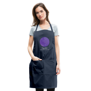 Virgo Baker  - Constellation Adjustable Apron - navy