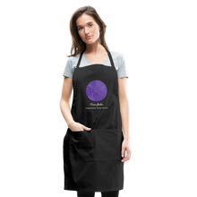 Load image into Gallery viewer, Pisces Baker - Constellation Adjustable Apron - black