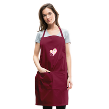 Load image into Gallery viewer, Baked with Love Adjustable Apron-Adjustable Apron | Spreadshirt 1186-Cheery Toppers
