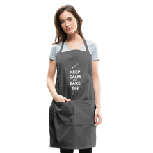 Load image into Gallery viewer, Keep Calm And Bake On Adjustable Apron-Adjustable Apron | Spreadshirt 1186-Cheery Toppers