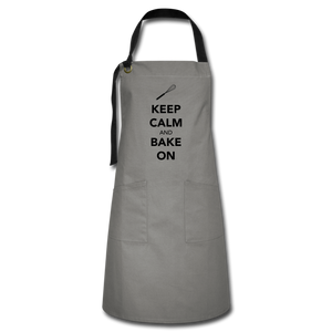Keep Calm And Bake On Artisan Apron-Artisan Apron | Spreadshirt 1429-Cheery Toppers