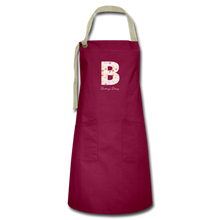 Load image into Gallery viewer, Customized Letter Cupcake Apron-Artisan Apron | Spreadshirt 1429-Cheery Toppers