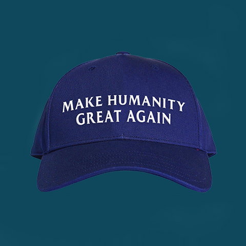 'Make humanity great again' Baseball Cap