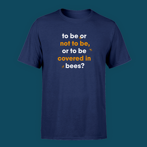 Eddie Izzard, Covered in Bees T-Shirt