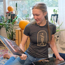 Load image into Gallery viewer, Women's Charcoal Grey Crew