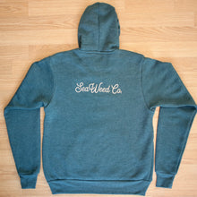 Load image into Gallery viewer, SeaWeed hoodie back view logo