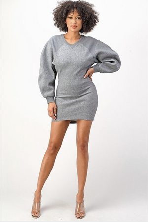 Brooklyn Sweatshirt Dress