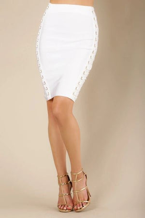 Lace Me Up Bandage Skirt