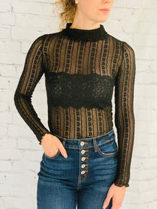 Seductive In Lace Long Sleeve