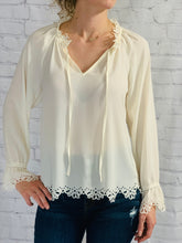 Load image into Gallery viewer, Boho Cream Long Sleeve