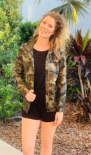 Load image into Gallery viewer, Camo & Sass Jacket