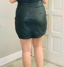 Load image into Gallery viewer, Heartbreaker Leather Skirt