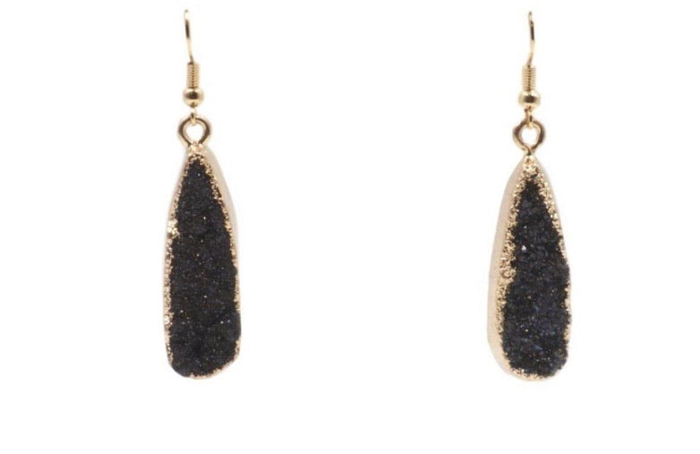 Raven Drop Earrings
