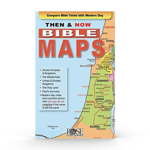 Then & Now, Bible Maps (Pamphlet)
