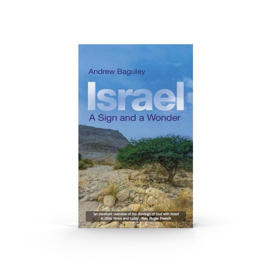 Israel: A Sign and a Wonder (Book) Book The Joseph Storehouse Trust