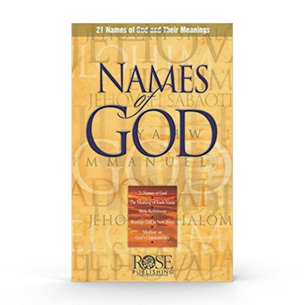 Names of God (Pamphlet) Book The Joseph Storehouse Trust