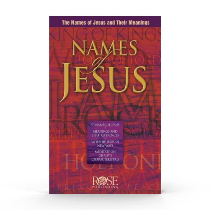 Names of Jesus (Pamphlet) Book The Joseph Storehouse Trust