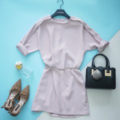 Winifred Elegant Dress with belt