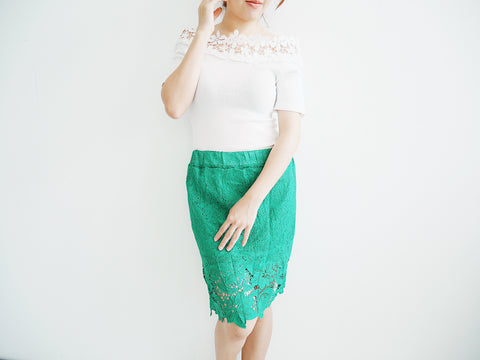Forest Lacey skirt