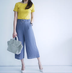Culottes Pant with belt