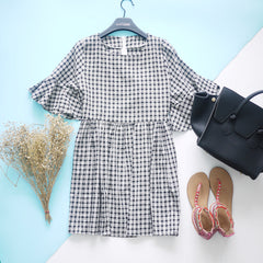 Checked Dolly Dress