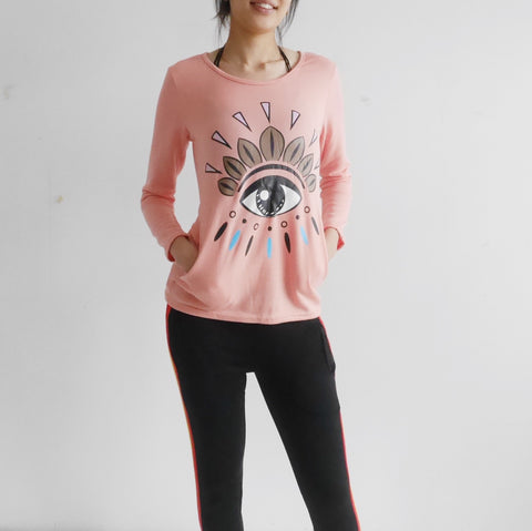 The Eye Long Sleeve Top