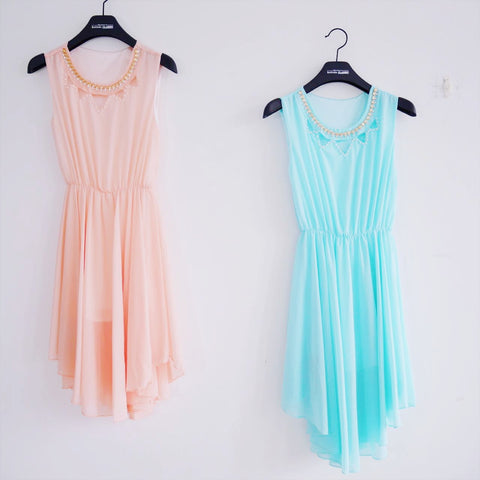 Candy colour gown
