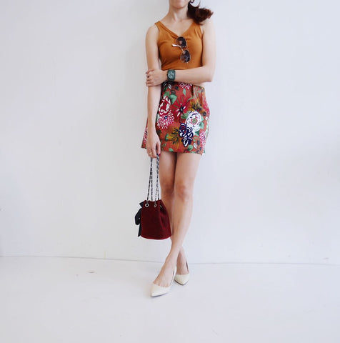 Baltic Floral Skirt