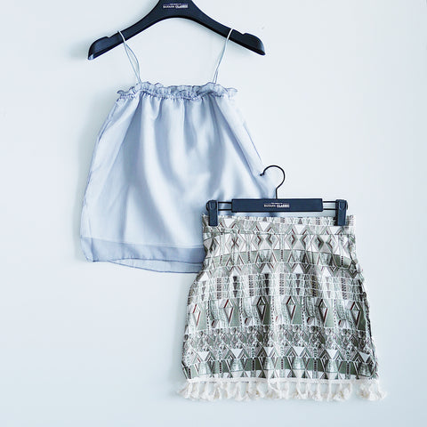 Country Style Mini Skirt set