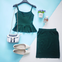 Peplum Set