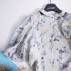 Floral shirt with choki